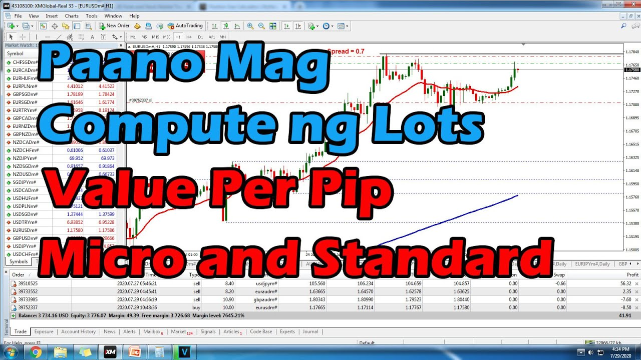 Forex Lot Sizes: Micro, Mini, and Standard Lots Explained - Forex Training Group